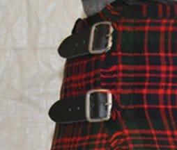 buckle fastening