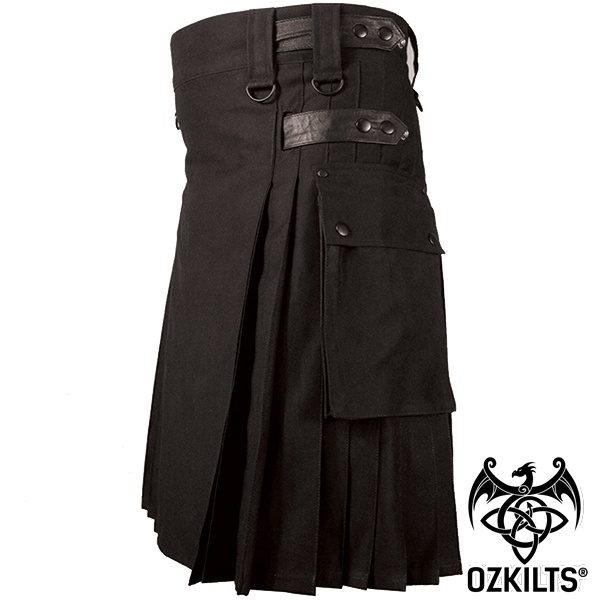 deluxe-utility-kilt-black-side