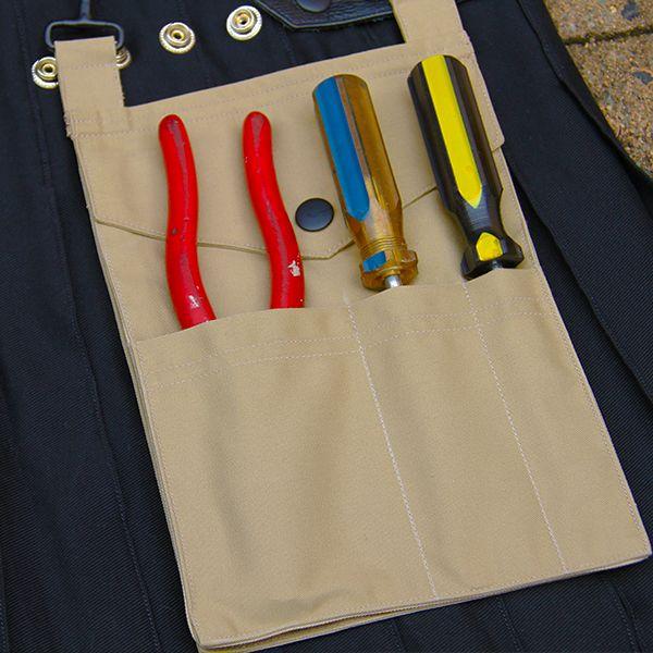 Workmans Kilt Detachable Tradie Pocket Detail