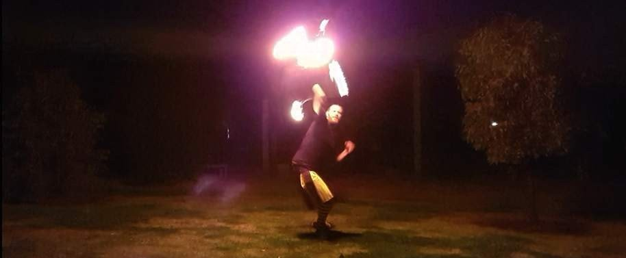 Fire Spinning and Fire Safety